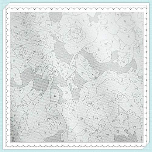 Nueva pintura por números para adultos Niños - Pierre Puvis de Chavannes Pintura impresionista Massilia, Colonia griega - Pintura digital DIY por Kits de números en lienzo
