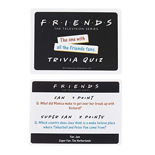 Paladone Friends TV Show Trivia Juego con 100 Preguntas