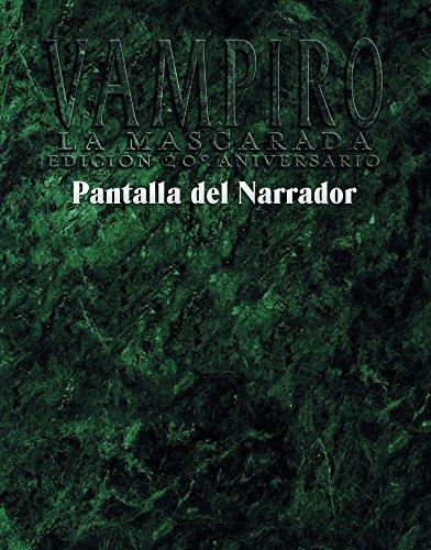 Pantalla del Narrador: Vampiro la Mascarada: Edición 20º Aniversario