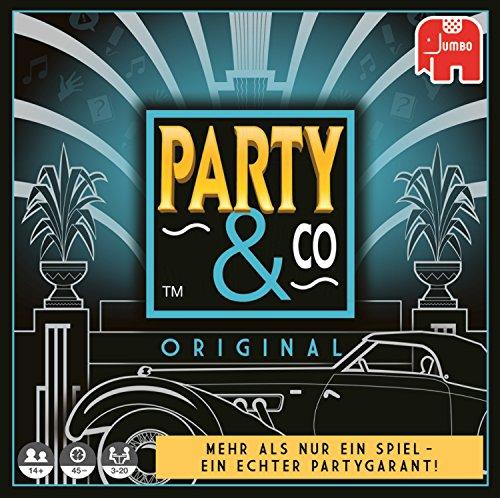 Party & Co. Original Adultos Juego de mesa de carreras - Juego de tablero (Juego de mesa de carreras, Adultos, 45 min, Niño/niña, 14 año(s), 01/08/2017) - [Idioma Aleman]