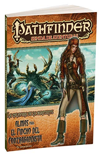 Pathfinder - La calavera de la serpiente Almas para el pincho del contrabandista (Devir PFCASE1)
