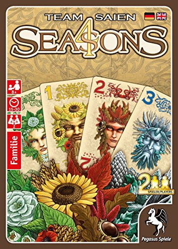 Pegasus Juegos 18281g 4Seasons, Juego de Cartas