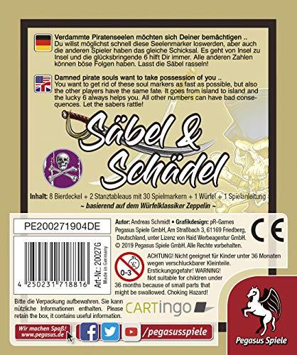 Pegasus Spiele- Juego de Cartas, Color incoloro (20027G)