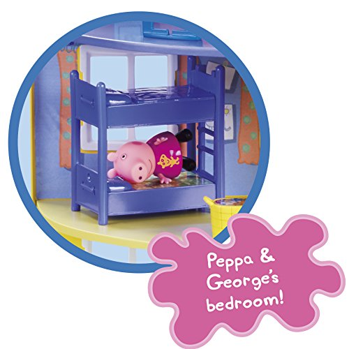 Peppa Pig 06384 Peppa's Family Home Playset Juego de casa Familiar, Multicolor, 0 (Character Options