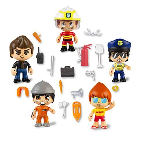 Pinypon Action- Set de 5 Figuras Series 2 con Accesorios para niños y niñas de 4 a 8 años, (Famosa 700015265) , color/modelo surtido