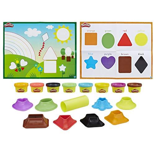 Play-Doh - Aprende colores y formas (Hasbro B3404546)
