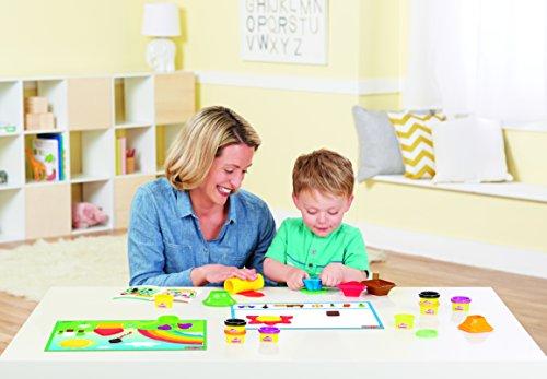 Play-Doh Play-Doh-HAS-B3404-0000 aprende Colores y Formas, Multicolor (Hasbro B3404)