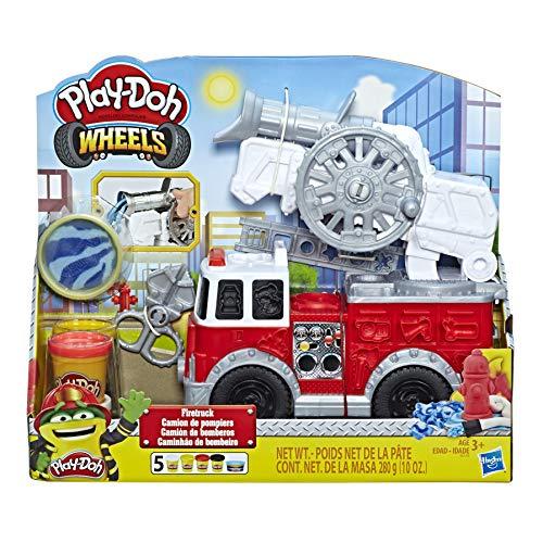 Play-Doh- Wheels Camión de Bomberos, Talla Única (Hasbro E6103EU4) , color/modelo surtido