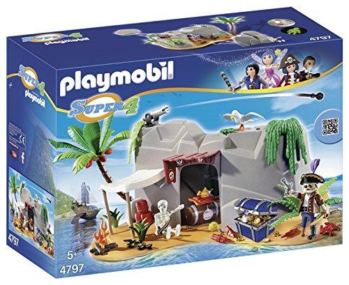 PLAYMOBIL - Cueva Pirata, playset (4797)