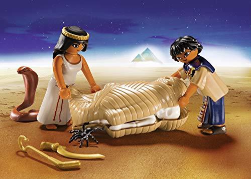 PLAYMOBIL- Maletín Egipto Juguete, Multicolor (geobra Brandstätter 9542)