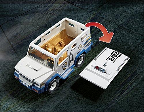 PLAYMOBIL- Vehículo Blindado, única (9371)