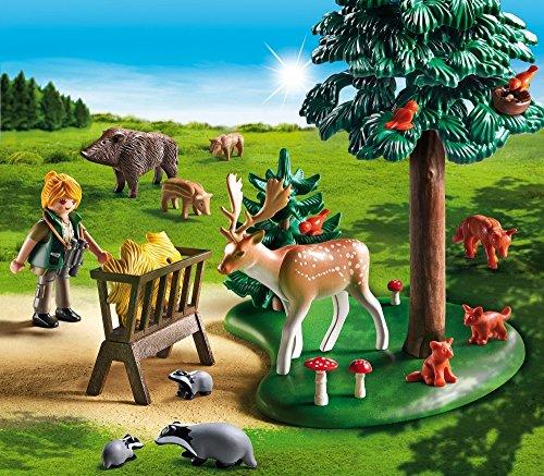 Playmobil Vida en el Bosque - Country Animales del Bosque Playsets de Figuras de jugete, Color Multicolor (Playmobil 6815)