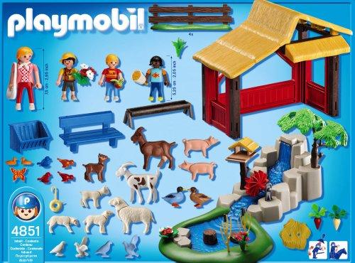 PLAYMOBIL - Zoo para niños, Set de Juego (4851)