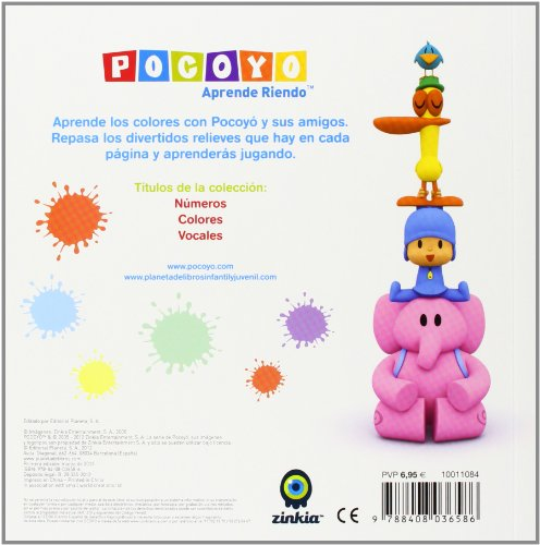 Pocoyó. Colores: Con divertidos relieves: 10 (Pocoyo)