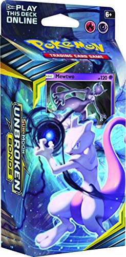Pokémon POK81554 TCG: Sun and Moon 10 Unbreaked Bonds Temática Deck (uno al azar), multicolor , color/modelo surtido