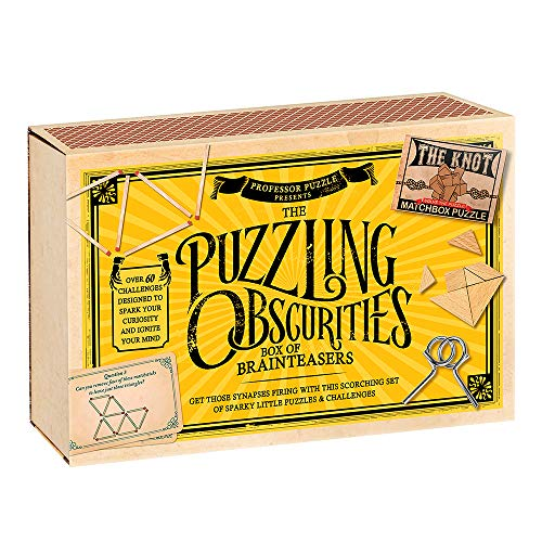 Professor Puzzle Caja de Obscuridades Rompecabezas , color/modelo surtido