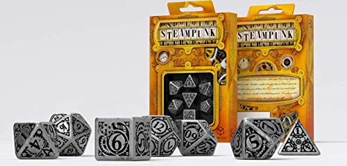 Q-workshop Set de Dados Steampunk - Color : Metal