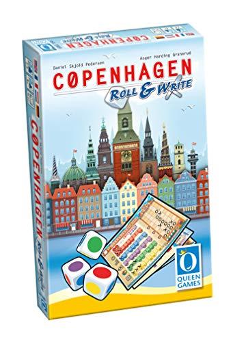 Queen Games 10463 Copenhagen Roll & Write - Juego de Mesa (Contenido en alemán)