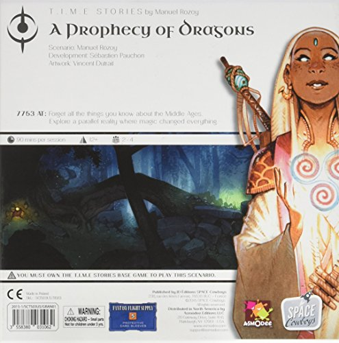 Race Face Prophecy of Dragons: Expansion Scenario #2 for T.I.M.E. Stories