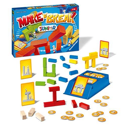 Ravensburger 22009 Make 'n' Break Junior - Juego de Mesa para niños