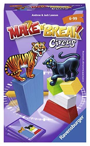 Ravensburger 23445 Make 'n' Break Circus - Juego de Mesa