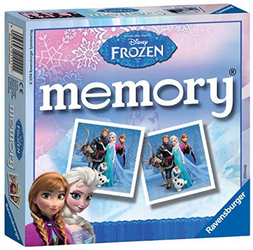 Ravensburger Disney Frozen Mini Memory Juego de emparejar Cartas - Juegos de Cartas (3 año(s), Juego de emparejar Cartas, Niño/niña, 150 mm, 40 mm, 150 mm)