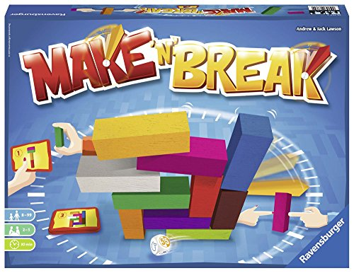 Ravensburger- Juego Make'n Break, habilidad contra reloj, Multicolor (26764) , color/modelo surtido