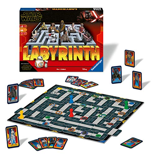 Ravensburger - Labyrinth Star Wars 9 (26137) , color/modelo surtido