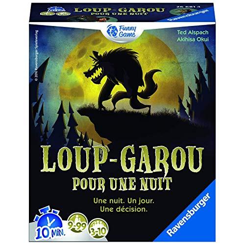 Ravensburger Werewolf for One Night Juego de baraja de Cartas (tematizado) - Juegos de Cartas (9 año(s), Juego de baraja de Cartas (tematizado), Werewolf, Niños y Adultos, Niño/niña, 99 año(s))
