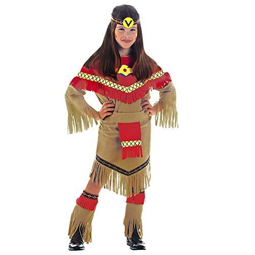 RAY Disfraz de indio del salvaje oeste para niña, talla 11-13 años (36668) , color/modelo surtido