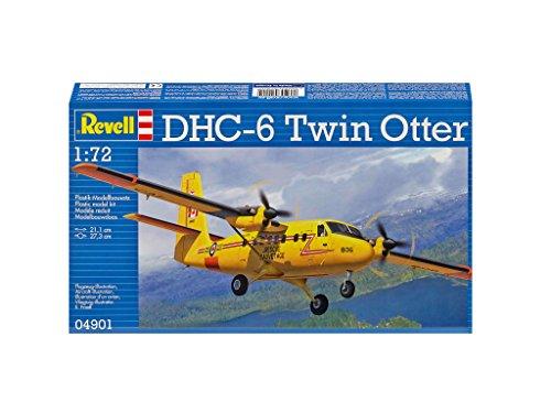 Revell Maqueta DHC-6 Twin Otter, Kit Modello, Escala 1:72 (4901) (04901), Multicolor