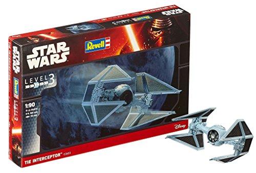 Revell Star Wars Tie Interceptor. Kit modele, Escala 1:90 (03603)