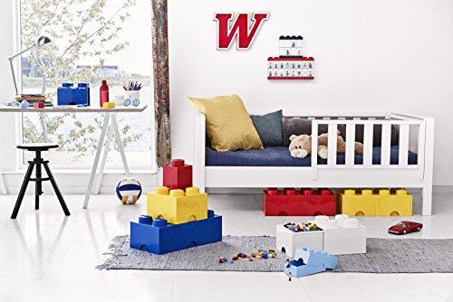 Room Copenhagen-Lego Ladrillo 4 pomos, 1 cajón, Caja de almacenaje apilable, 4,7l 40051730