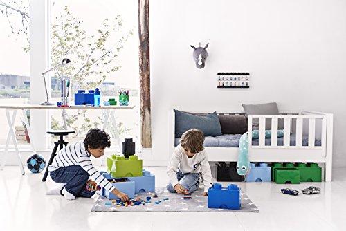 Room Copenhagen-Lego Ladrillo 4 pomos, 1 cajón, Caja de almacenaje apilable, 4,7l 40051734