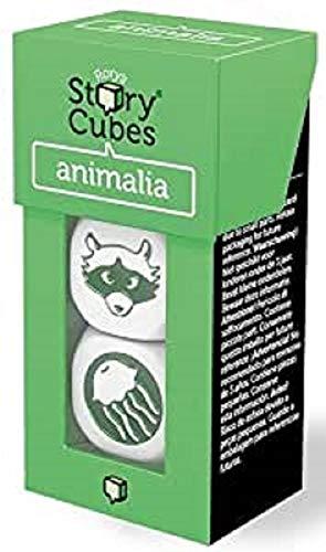 Rory Story Cubes Animalia Juego de Mesa de Dados para Crear Cuentos e Historias, temática Animales (podría no Estar en español)