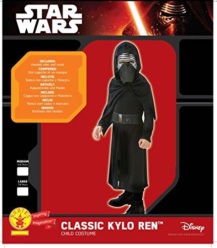 Rubies Star Wars - Disfraz Kylo Ren, para niños, 7-8 años 620260-L