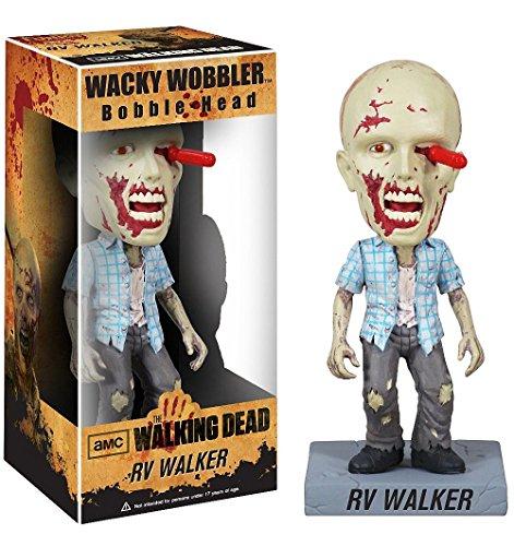 RV Walker Zombie Bobble Head Figure: Walking Dead x Wacky Wobbler Series