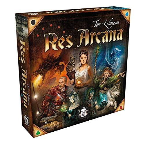 Sand Castle Games SCGD0001 Res Arcana, Multicolor