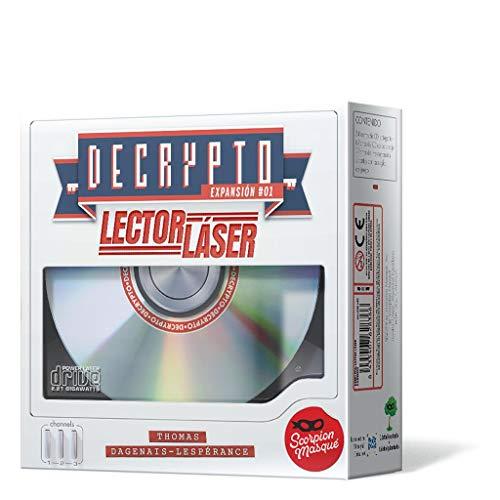 Scorpion Masqué- Decrypto: Lector Láser - Español, Color (SMDE0002)