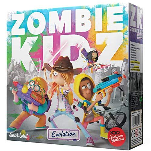 Scorpion Masqué- Zombie Kidz Evolution - Juego de Mesa - Español, Multicolor, Talla Única (SMZKE001)
