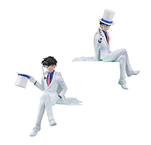 SEGA Detective Conan PM Small Figure Figurine 14cm kid the Phantom thief 2set