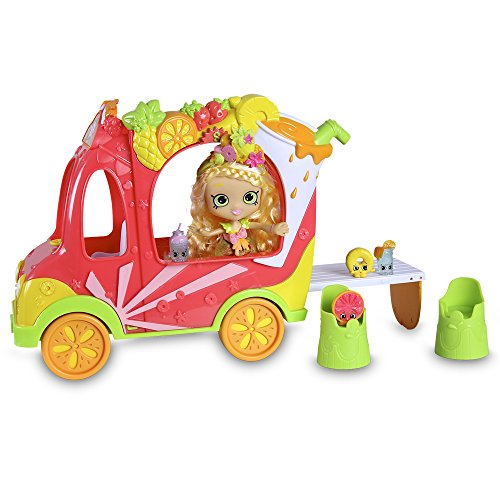 Shopkins - Camion de los Smoothies con una muñeca (Giochi Preziosi HPK58000)