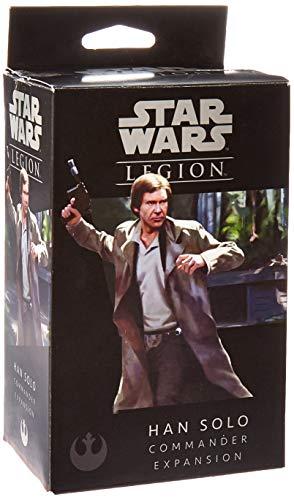 Star Wars FFGSWL20 Legion Han Solo Commander Expansión, Multicolor