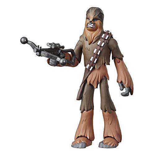 Star Wars - Figura de acción de 12,5cm de Chewbacca de Galaxy of Adventures (Hasbro E3807EL2)