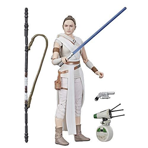 Star Wars - Figuras de acción de Rey y D-O de Black Series (Hasbro E4077EL2)