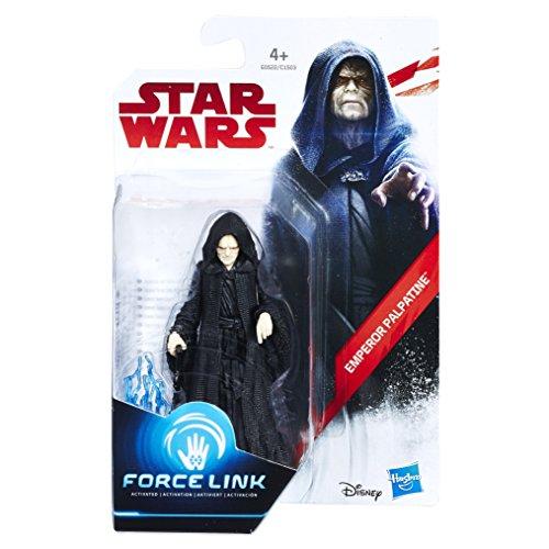 Star Wars- Force Link Emperor Palpatine Figura (Hasbro E0522EL2)