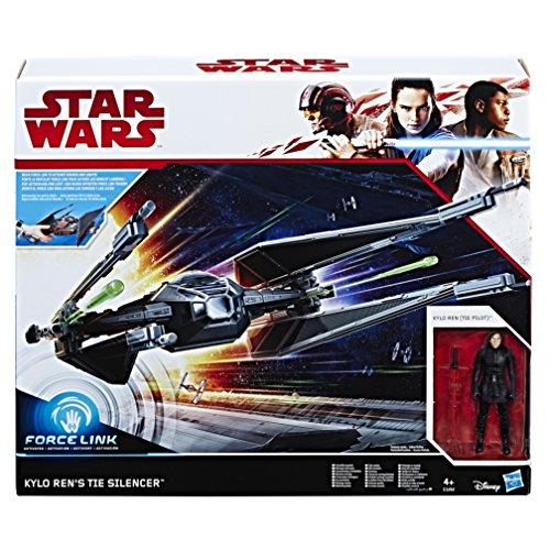 Star Wars Ren w Kylo Ren's Tie Silencer (Hasbro European Trading B.V C1252EU4)