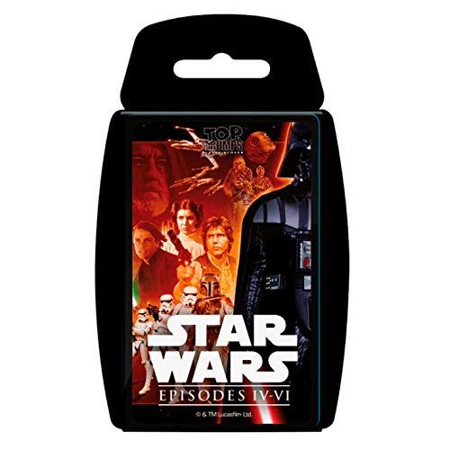 Star Wars Top Trumps EP IV-Vi (81694), Multicolor, Ninguna (Eleven Force 1)