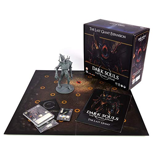 Steamforged Games Dark Souls The Board Game Expansion The Last Giant Miniature