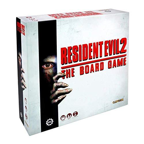 Steamforged Games SFRE2001 Resident Evil 2: el Juego de Mesa, Multicolor